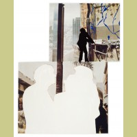 John Baldessari One and Three Persons (with Two Contexts - One Chaotic)