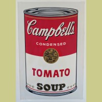 Andy Warhol Campbell's Soup I: Tomato
