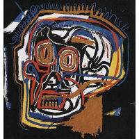 Jean-Michel Basquiat Untitled (Head)