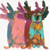 Andy Warhol Kachina Dolls