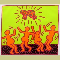 Keith Haring Fertility Plate 1