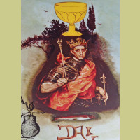 Salvador Dali King of Cups