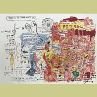 Jean-Michel Basquiat Liberty