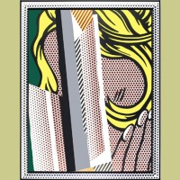 Roy Lichtenstein Reflections on Hair