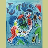 Marc Chagall Lithograph from Chagall Lithographe Volume III