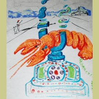 Imaginations and Objects of the Future Cybernetic Lobster Telephone