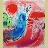 Marc Chagall Maternity with Centaur