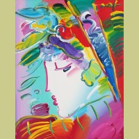 Peter Max Blushing Beauty