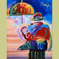 Peter Max Umbrella Man