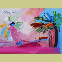 Peter Max American 500: Palm Tree