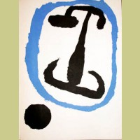 Unsigned joan miro browse by artist georgetown frame for Miro derriere le miroir