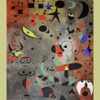 Joan Miro (after) Le reveil au petit jour (Awakening in the Early Morning), Plate XIV