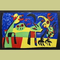 Joan Miro Barking Dog