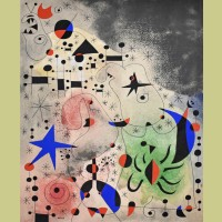 Joan Miro (after) L'oiseau migrateur (The Migratory Bird), Plate XVIII