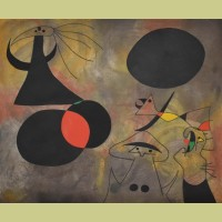 Joan Miro (after) Le Lever du soleil (Sunrise), Plate I