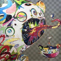 Takashi Murakami Homage to Francis Bacon (Study of George Dyer)