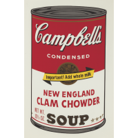 Andy Warhol Campbell's Soup II: New England Clam Chowder