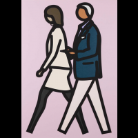 Julian Opie New York Couple 7