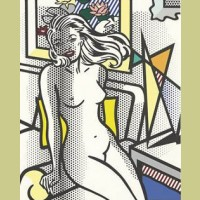 Roy Lichtenstein Nude With Yellow Pillow