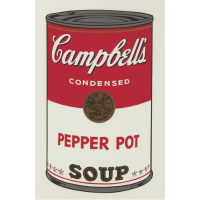 Andy Warhol Campbell's Soup I: Pepper Pot