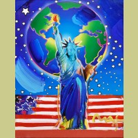 Peter Max Peace on Earth