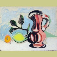 Pablo Picasso (after) Nature morte au citron et un pichet rouge (Still Life with Lemon and Red Pitcher)