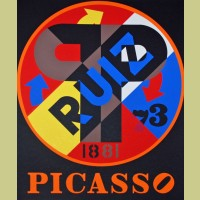 Robert Indiana Picasso
