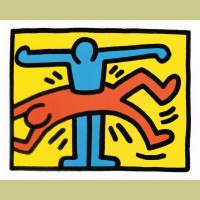 Keith Haring Pop Shop VI Plate 1