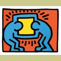 Keith Haring Pop Shop VI Plate 2