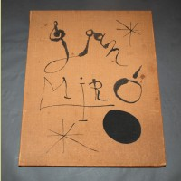 Joan Miro Constellations, Portfolio Box