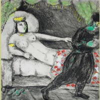 Marc Chagall Potiphar's Wife