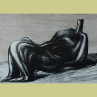 Henry Moore Draped Reclining Figure