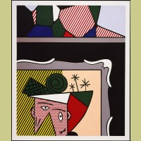 Roy Lichtenstein Two Paintings