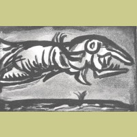 Georges Rouault Le Poisson Volanti (The Flying Fish)