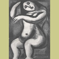 Georges Rouault Nu Assis (Seated Nude)