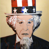 Andy Warhol Uncle Sam