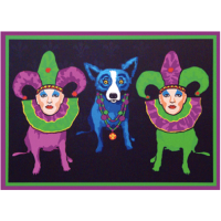 George Rodrigue Krewe de Bleu