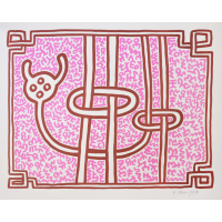 Keith Haring Chocolate Buddha 3