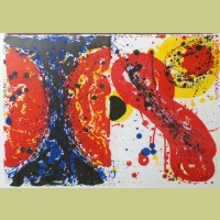 Sam Francis 1¢ Life and Uncle Sam Loves Marilyn