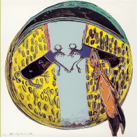 Andy Warhol Plains Indian Shield