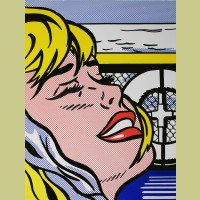 Roy Lichtenstein Shipboard Girl