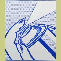 Roy Lichtenstein Spray Can