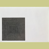 Frank Stella Untitled