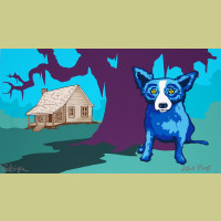 George Rodrigue The House My Daddy Built