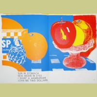 Tom Wesselmann Still Life With Fruit