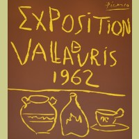 Pablo Picasso Exposition Vallauris 1962