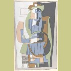 Pablo Picasso (after) Seated Figure
