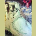 Marc Chagall Sarah and Abimelech