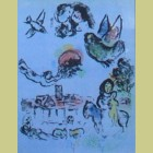 Marc Chagall Nocturne at Vence