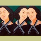 Alex Katz Gray Ribbon